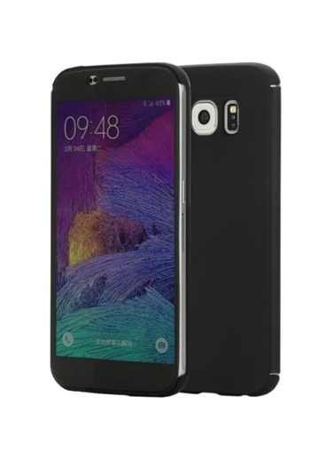 DR.V Samsung Galaxy S6 invisible Smart UI Transparent Kılıf -Rock